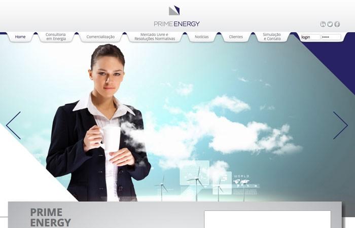 O site da Prime Energy ganha novo formato