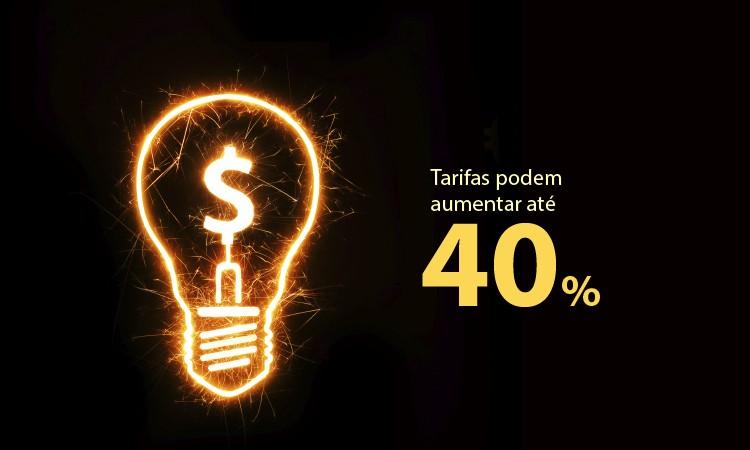 Energia elétrica pode aumentar até 40% em 2015
