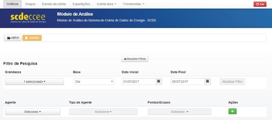 SCDE – Sistema de Coleta de Dados de Energia